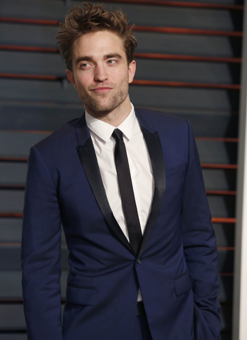 Robert Pattinson at the Vanity Fair Oscar Party 2015 at the Wallis Annenberg Center for the Performing Arts on February 22, 2015 in Beverly Hills, CA