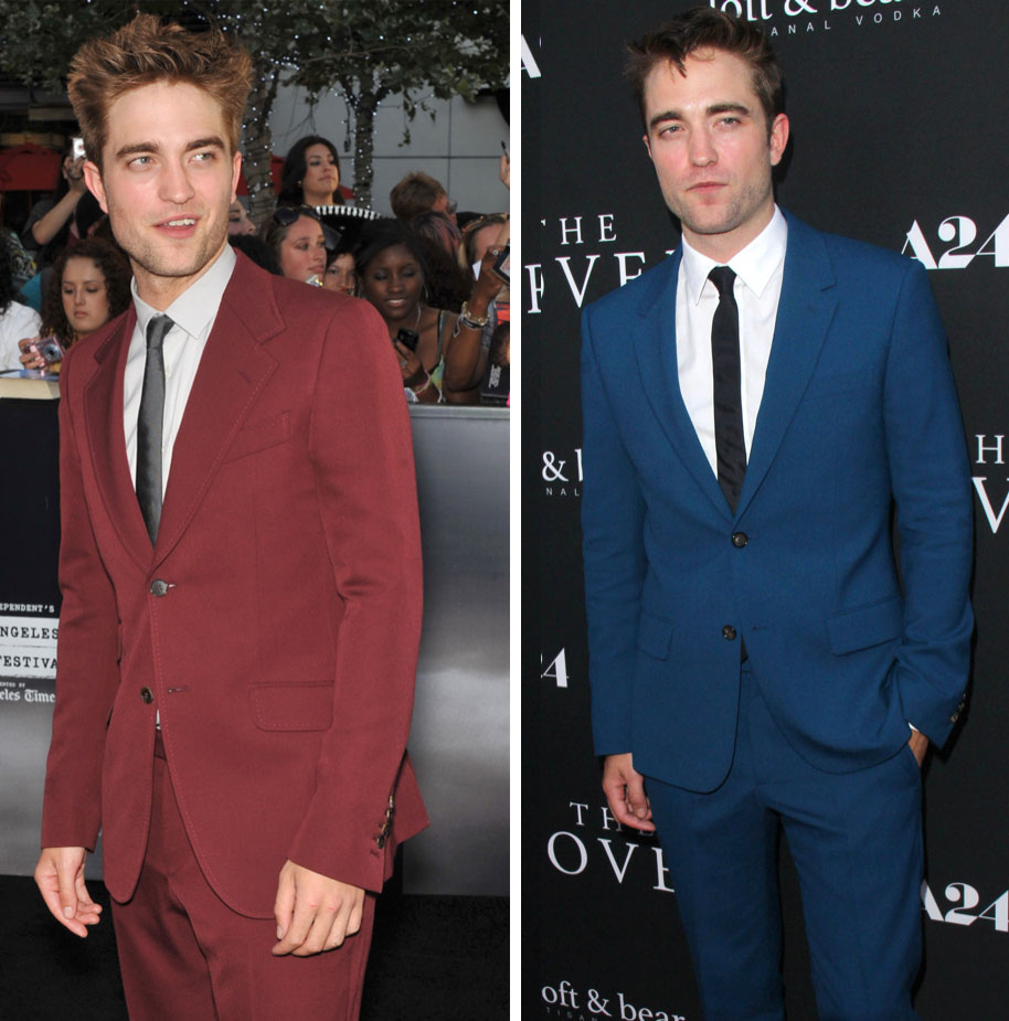 Style Watch: 5 Times Robert Pattinson Wore a Colorful Suit