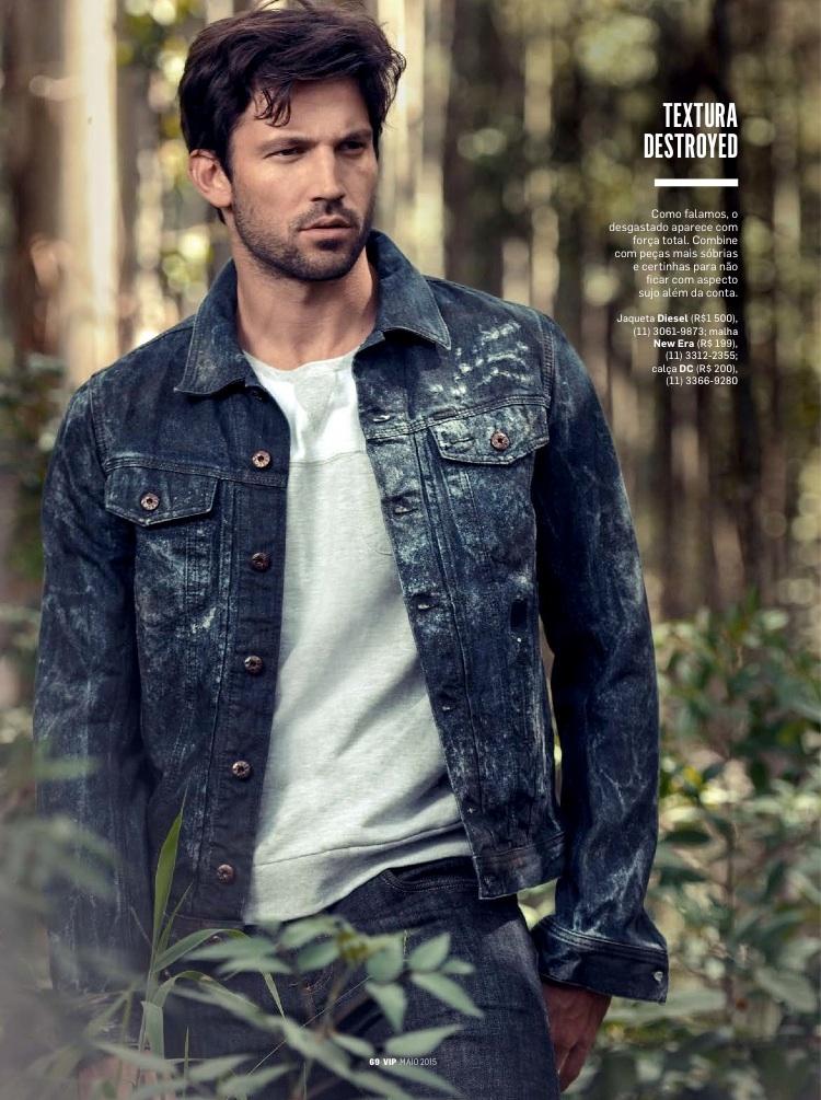Raphael Does Denim for VIP Fashion Editorial