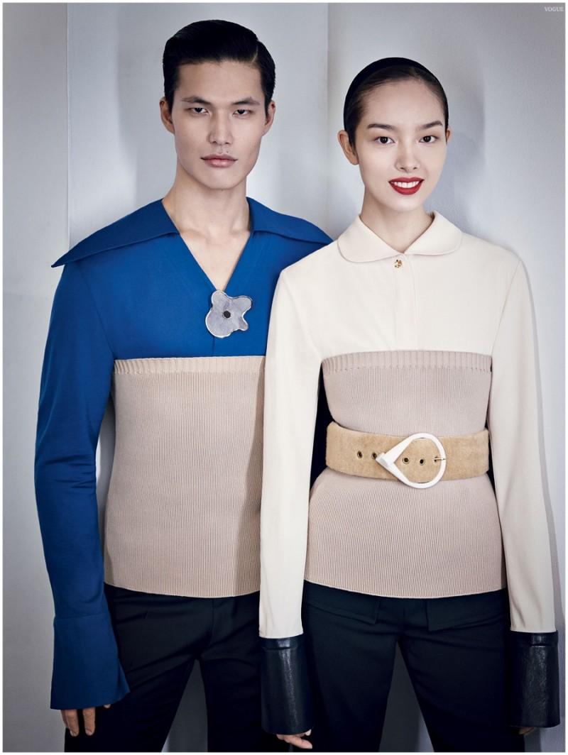 Dae Na and Fei Fei Sun