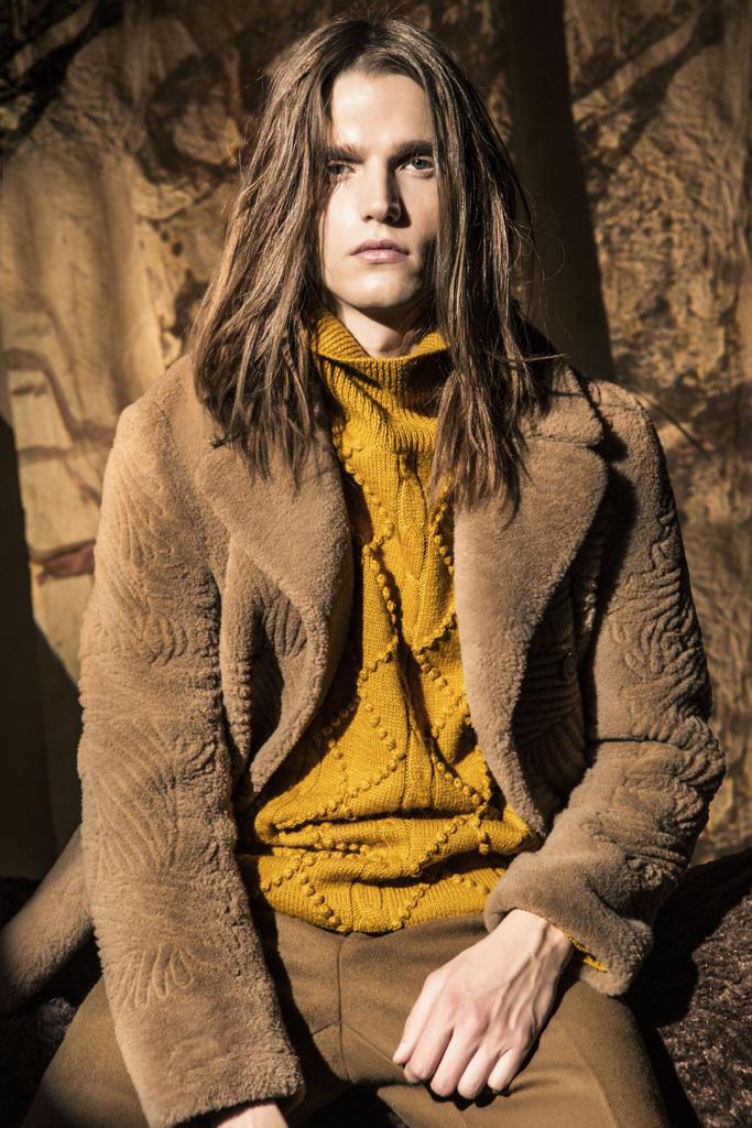 WWD Hones in on Men's Fall 2015 Shearling Fashion Trend