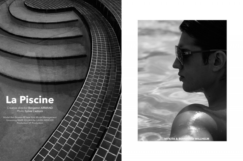 Ben is photographed by Sylvie Castioni for the summer feature.