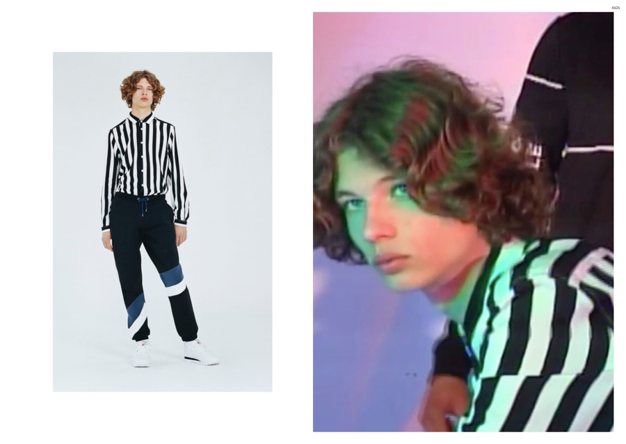 ASOS Goes Graphic for Fall/Winter 2015 Men's Collection