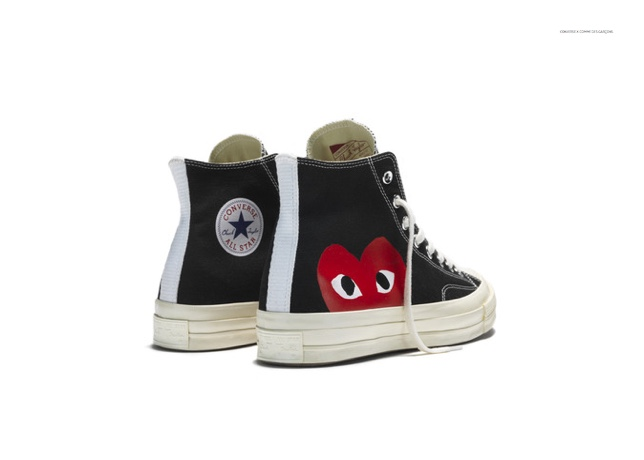 Converse x Comme des Garçons Play Chuck Taylor All Star '70 Sneakers Collaboration