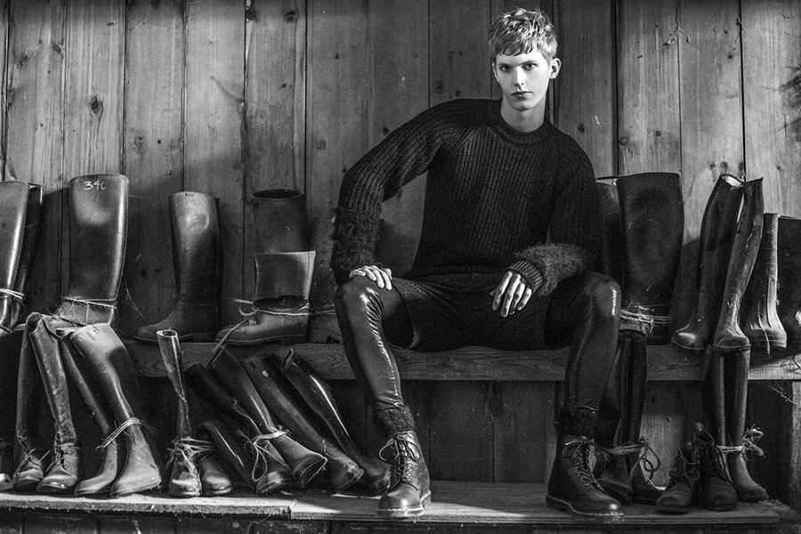 Cory Allen Goes Equestrian for Fall/Winter 2015 Collection