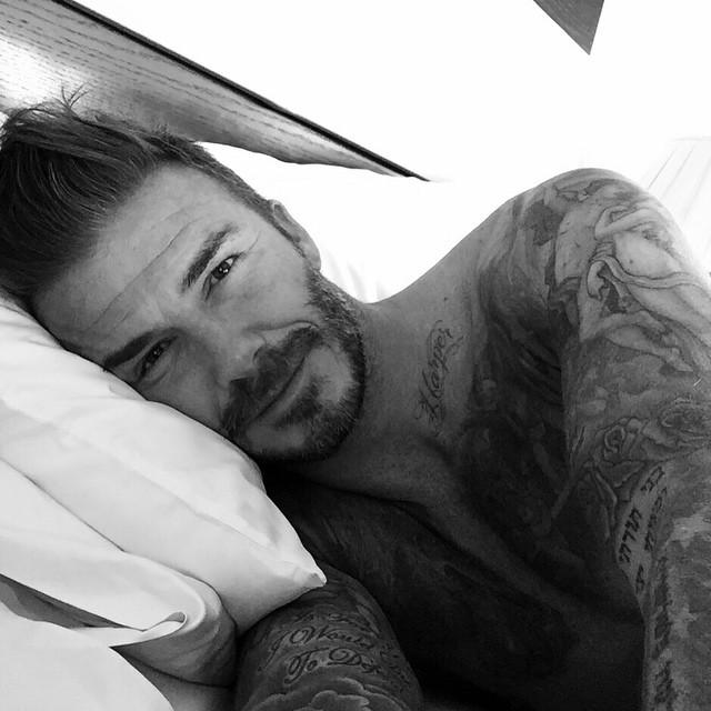 David Beckham Celebrates 40th Birthday, Joins Instagram