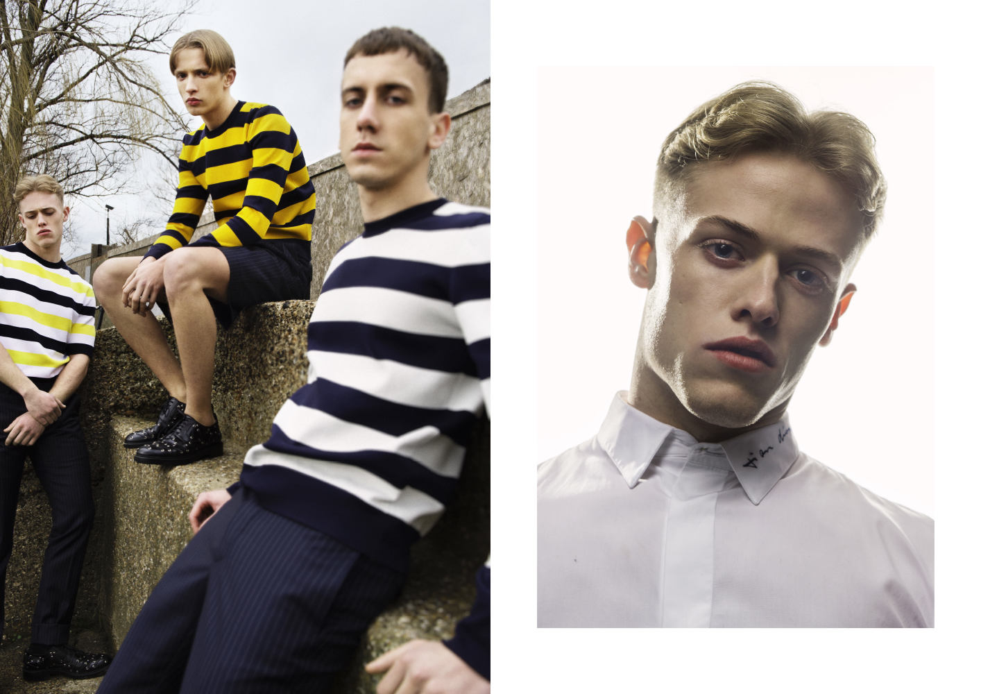 Metal Highlights Dior Homme Spring 2015 Collection