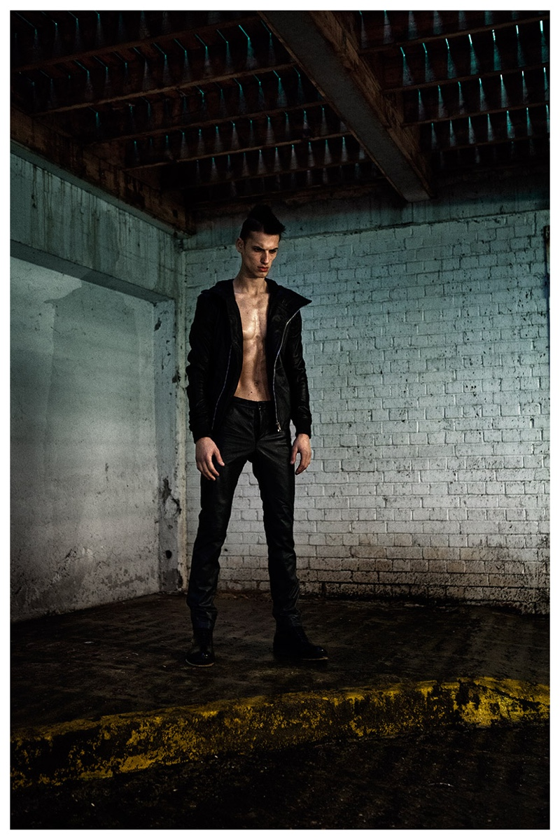 Domingo Rodriguez Unveils Fall/Winter 2015 Leather