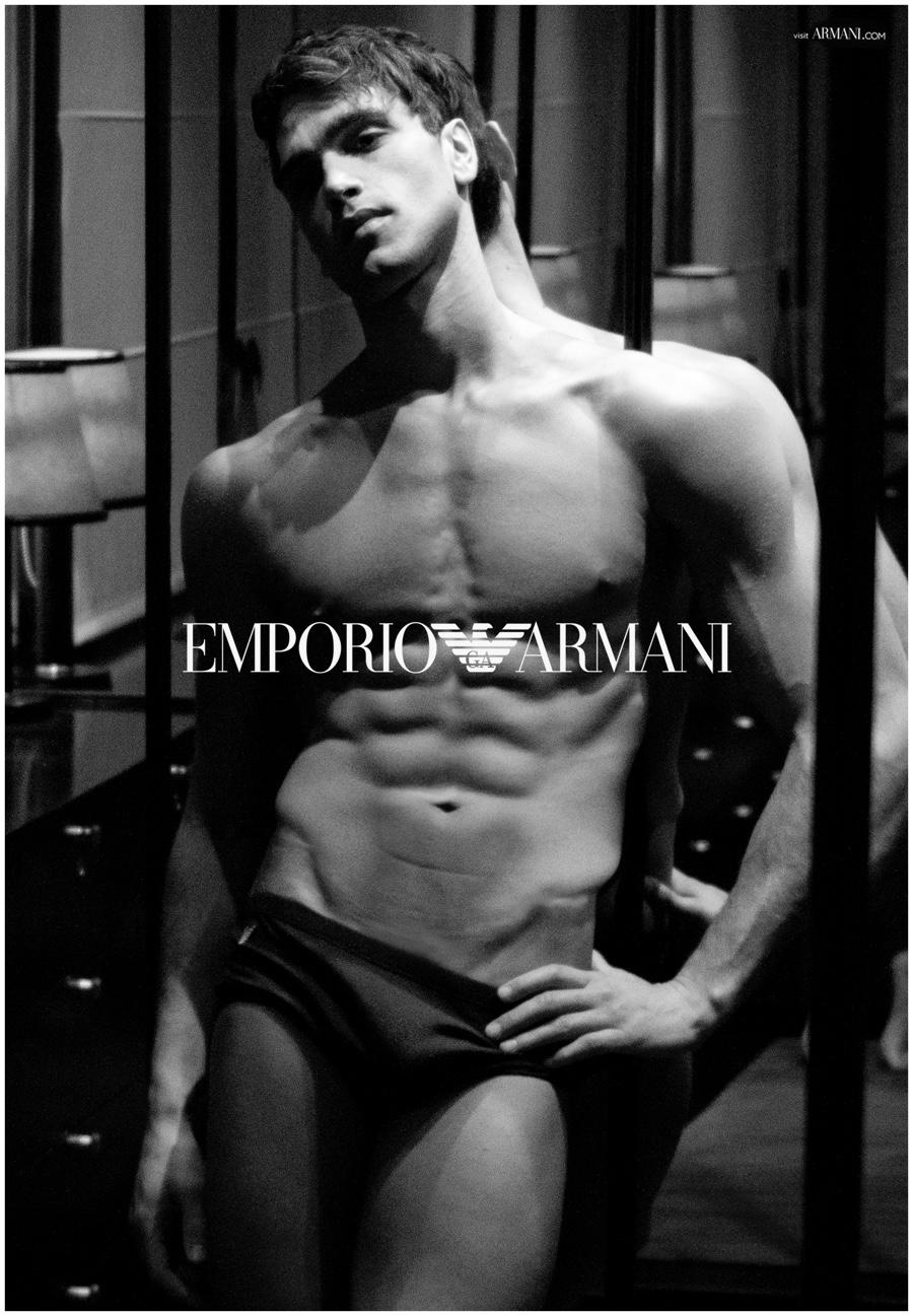 Fabio Mancini Reunites with Emporio Armani for Sensual Underwear Collection
