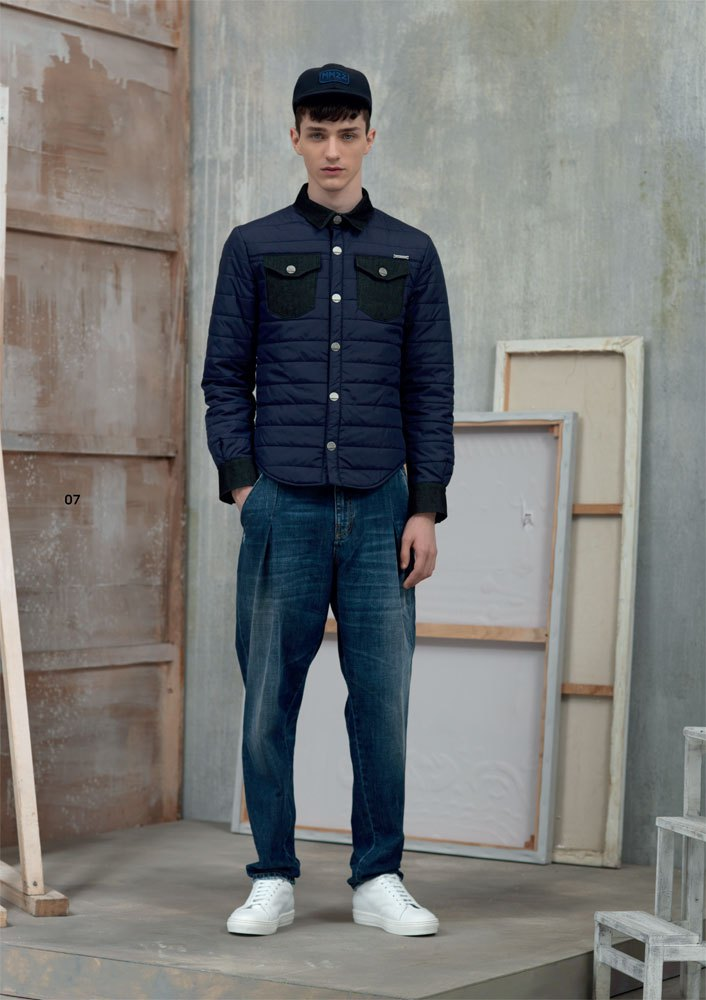 Frankie Morello Adds Formal Attitude to Modern Workwear for Fall/Winter 2015 Menswear Collection