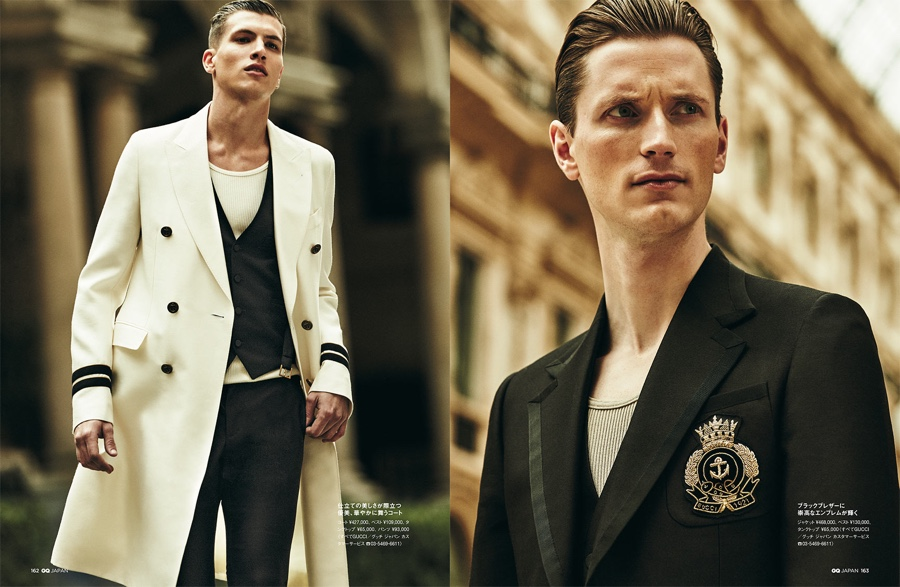 Made in Italy: GQ Japan Does Chic Spring Fashions