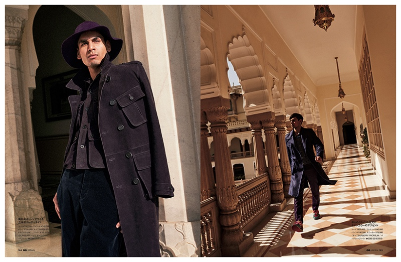 GQ Japan Takes to India with Spring/Summer 2015 Men's Collections
