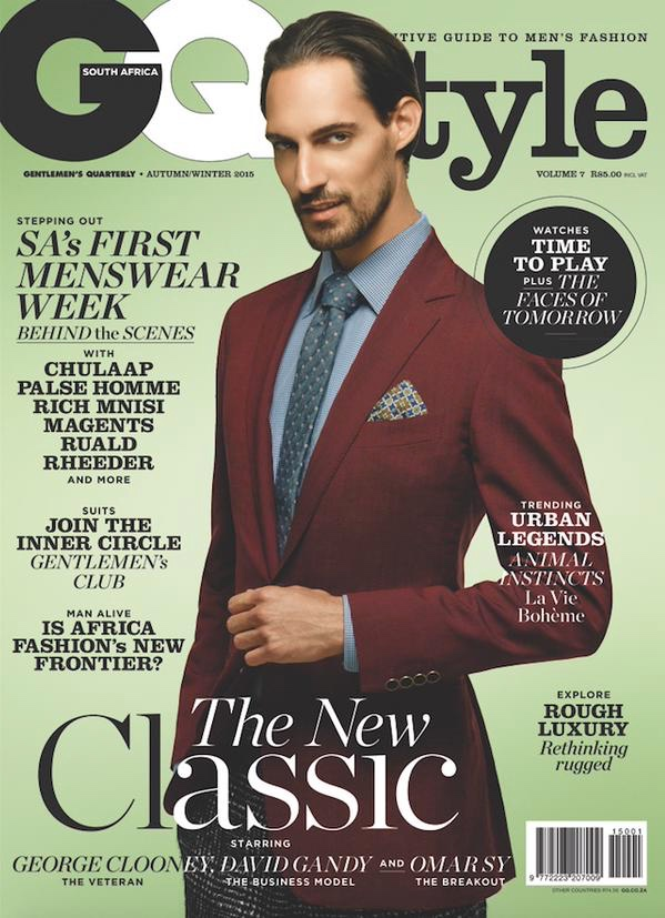 Nicolo Novelli Joins the Inner Circle for GQ Style South Africa Cover Shoot