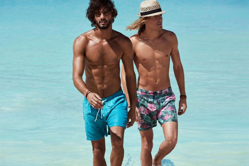 Marlon Teixeira and Ton Heukels enjoy a picture-perfect summer day out.