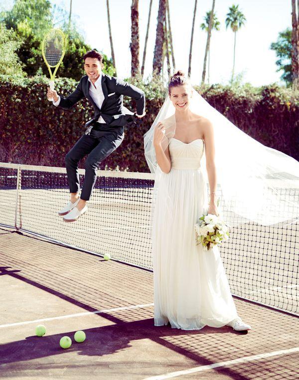 Model Arthur Kulkov Joins J Crew For Its Latest Wedding Guide
