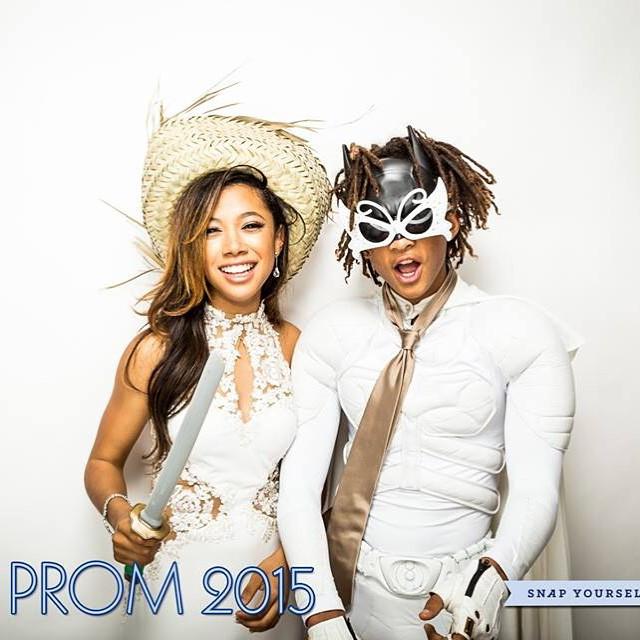Jaden Smith Goes to Prom as White Batman
