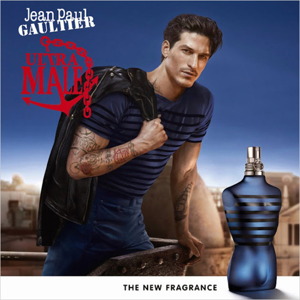 Jarrod Scott Reunites with Jean Paul Gaultier for Ultra Male Fragrance Campaign