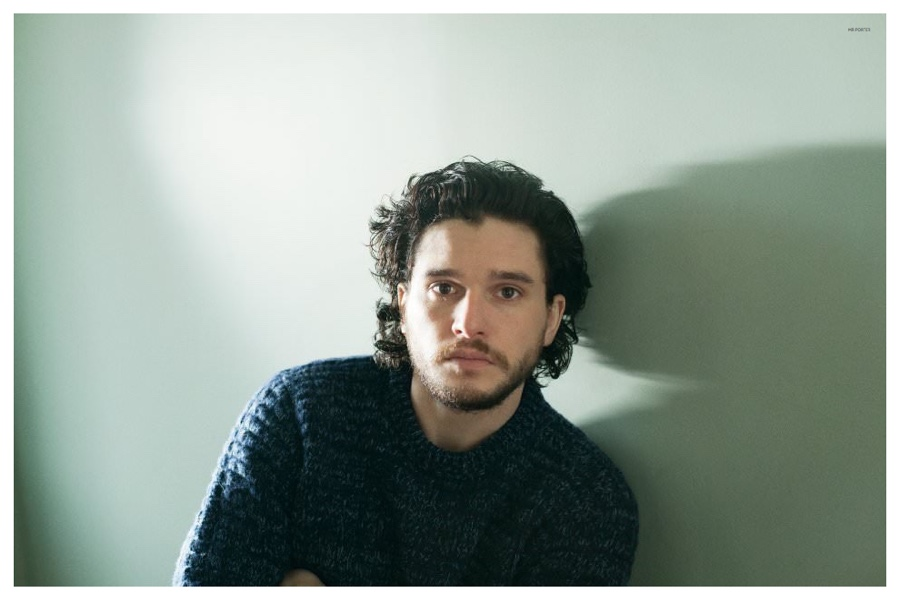 Kit Harington Stars in Mr Porter Shoot, Talks 'Game of Thrones' Fame
