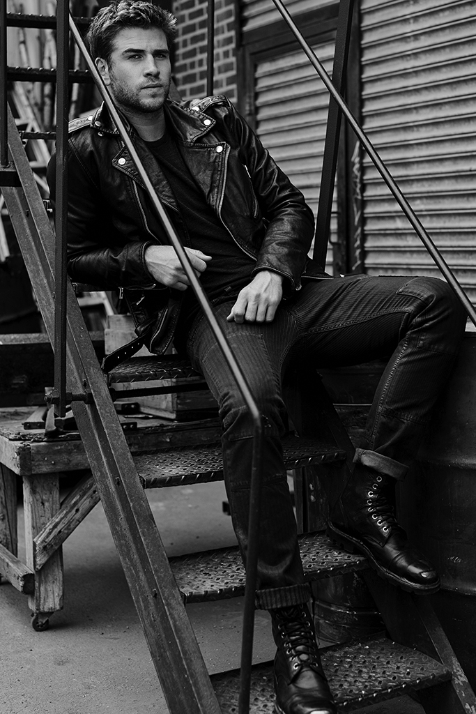 Liam Hemsworth Fronts Diesel Only the Brave Fragrance Campaign