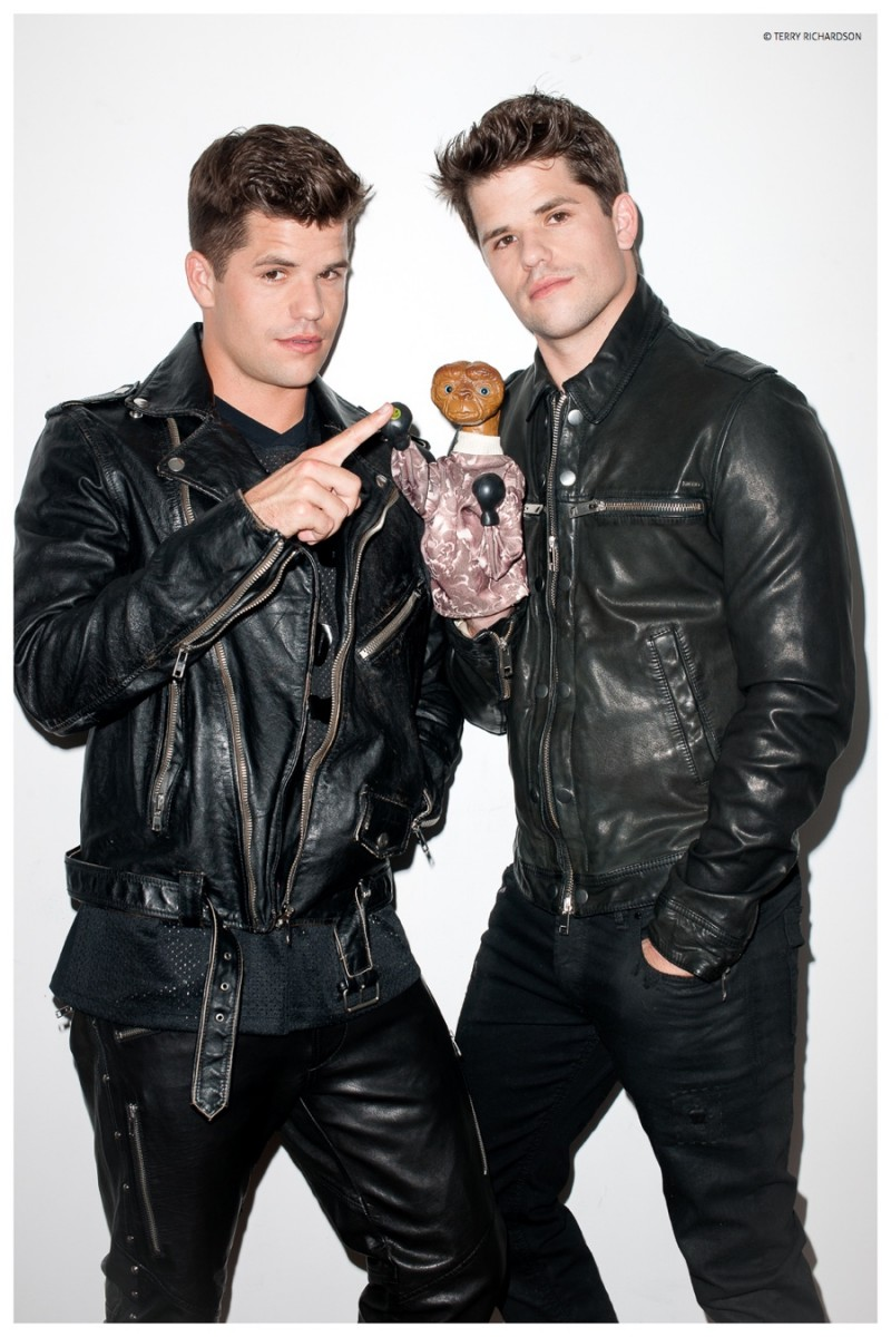 Charlie + Max Carver Shoot with Terry Richardson