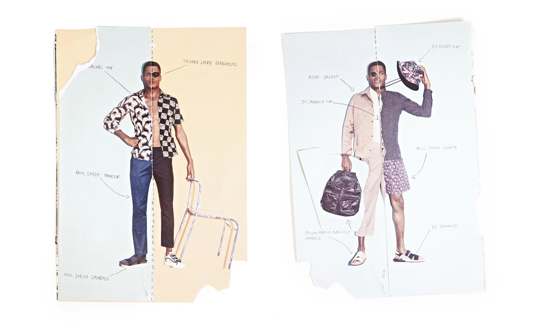 Foldz! O'Shea Robertson Models Mixed Quirky Styles for oki-ni