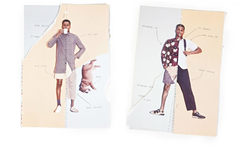 O'Shea Robertson's looks are dissected for a fun approach to summer style.