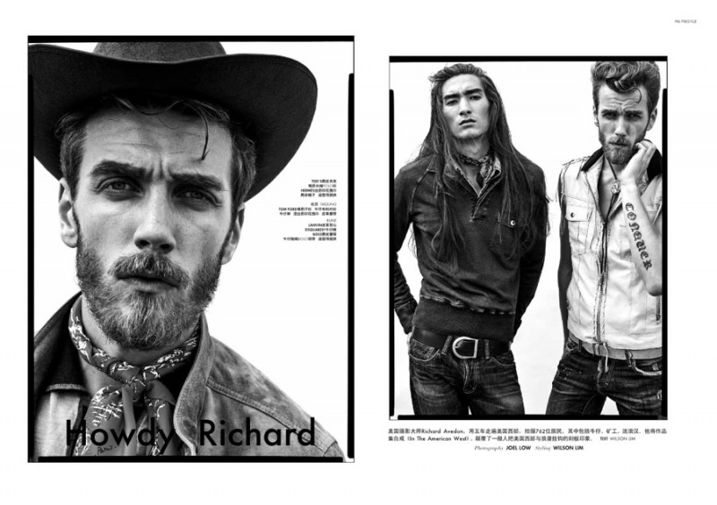 PIN Prestige pays tribute to Richard Avedon with a new fashion editorial.