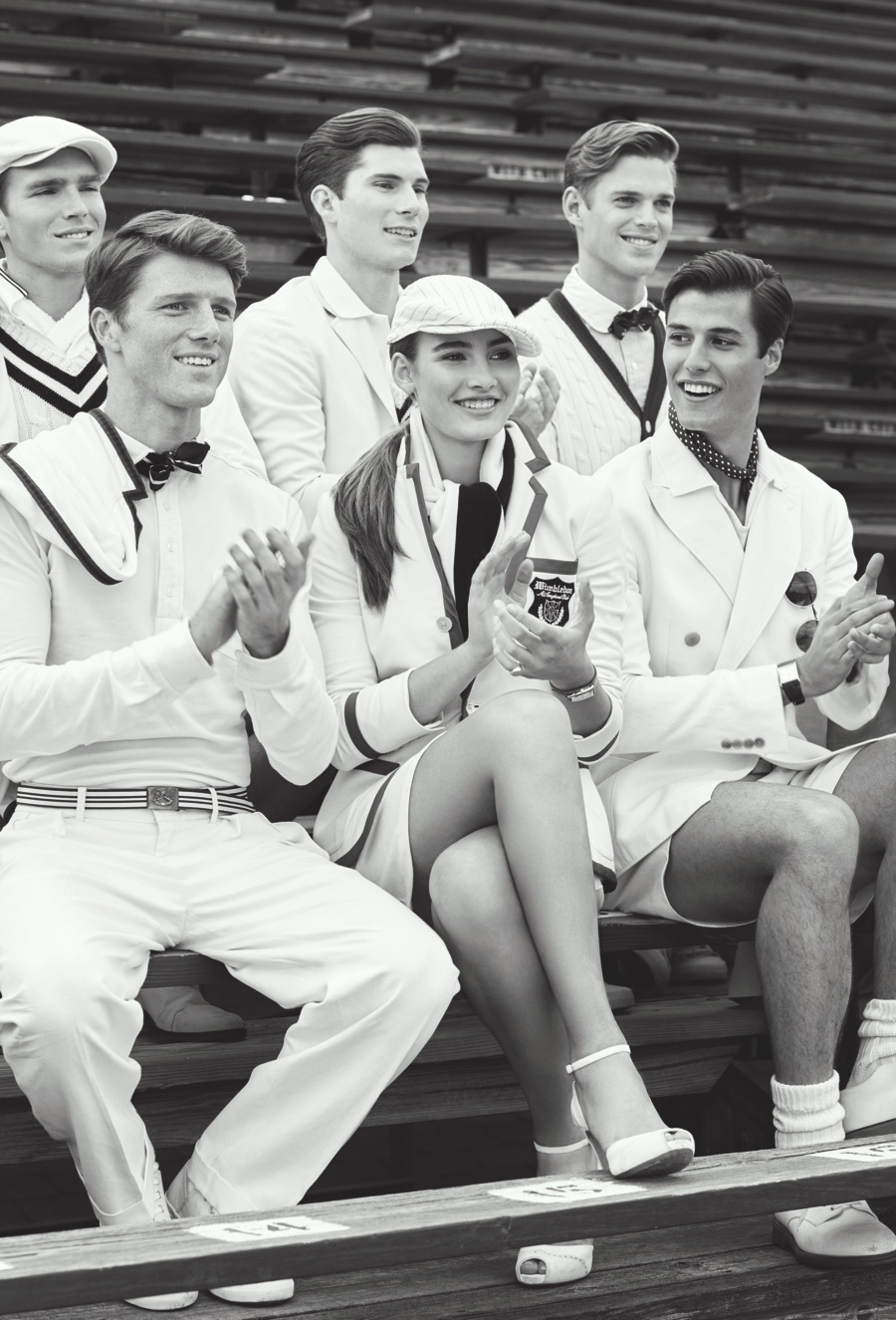 Ralph Lauren Celebrates 10th Anniversary as Wimbledon Sponsor