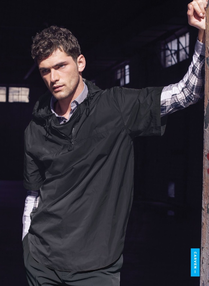 Sean O'Pry Keeps it Casual in Bloomingdale's Latest