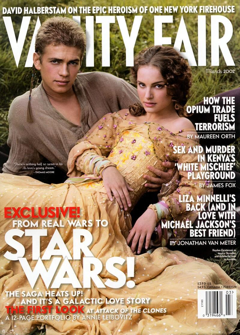 Star-Wars-Vanity-Fair-Cover-March-2002-Hayden-Christiansen-Natalie-Portman