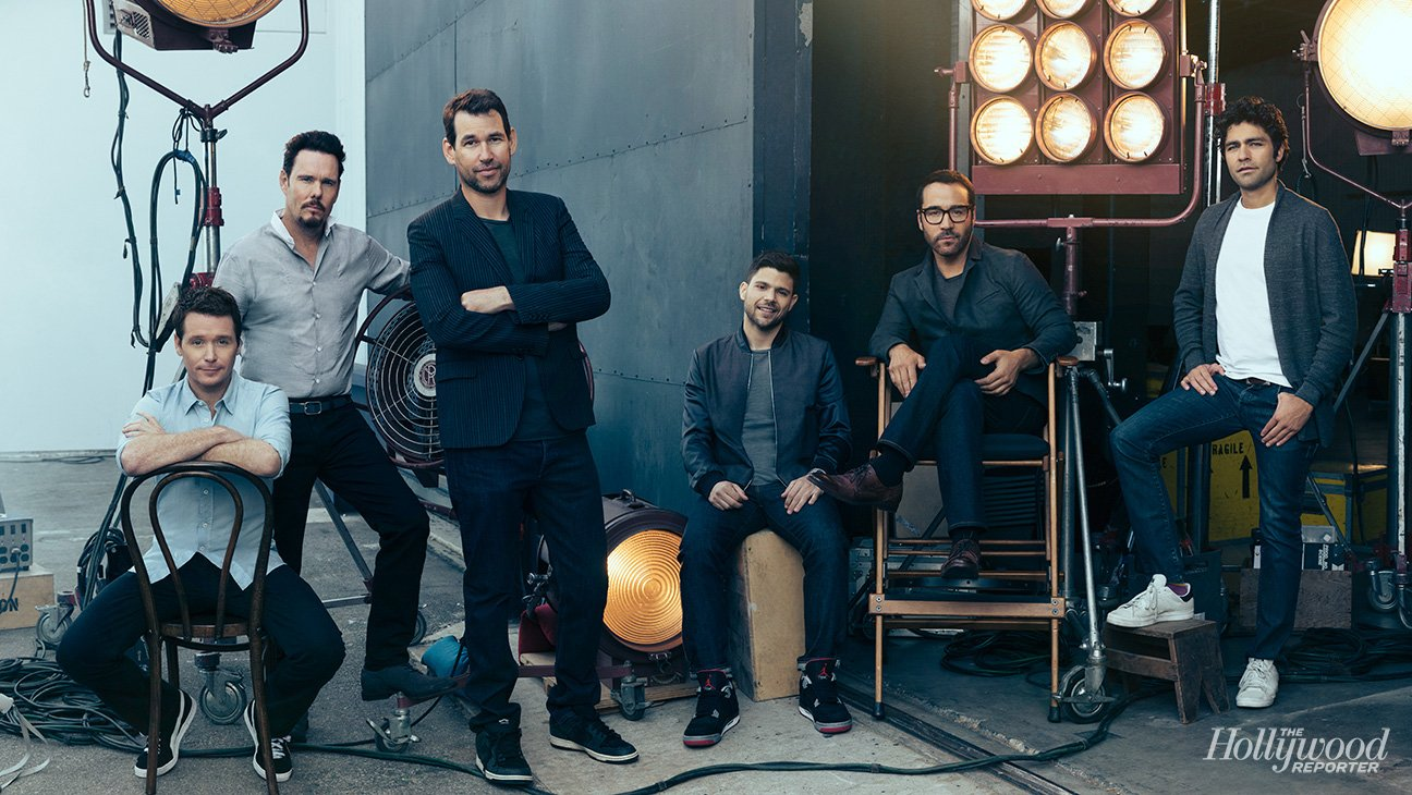 Entourage Cast Pose For The Hollywood Reporter Portraits