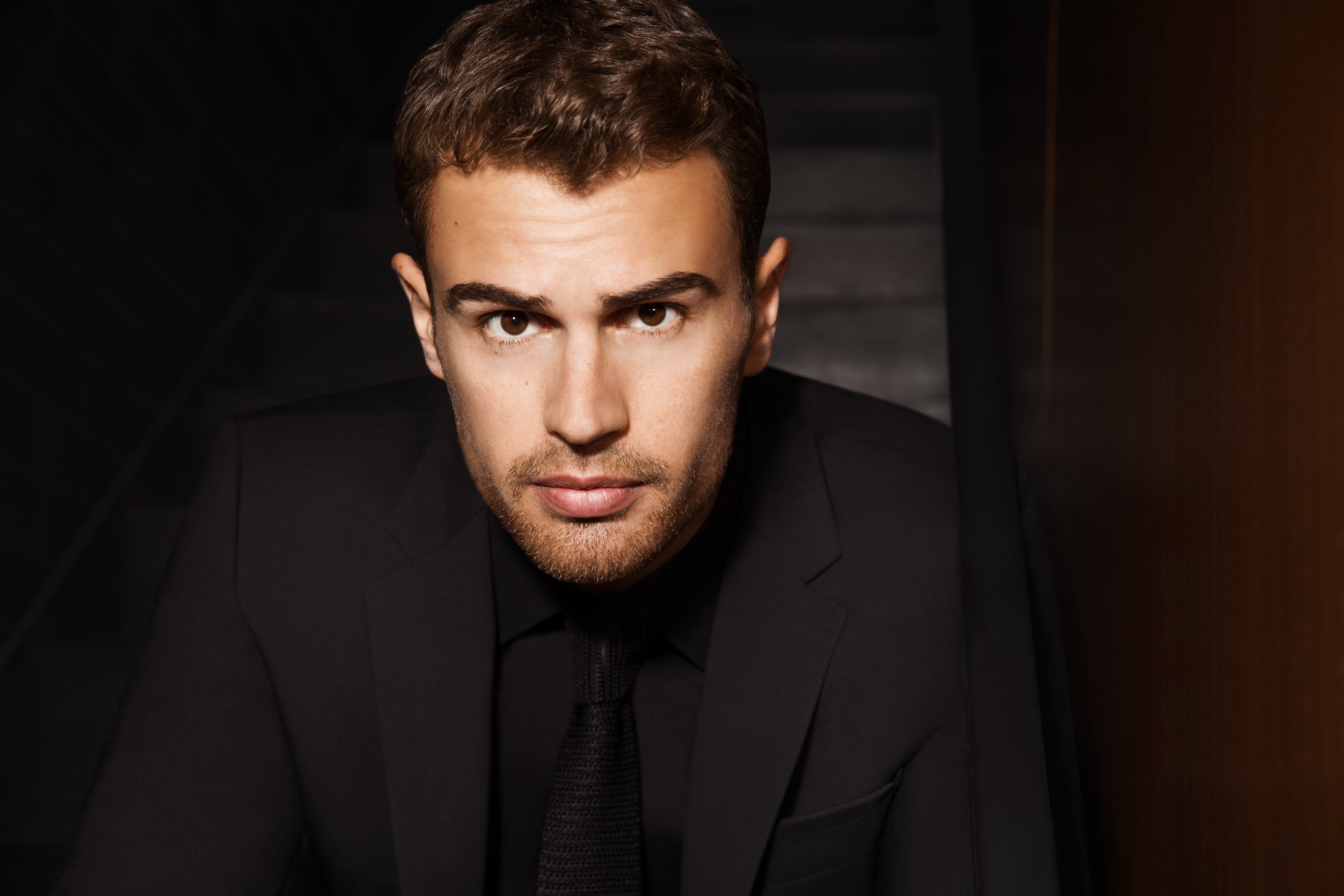 Hugo Boss Taps Theo James for Fragrance Campaign
