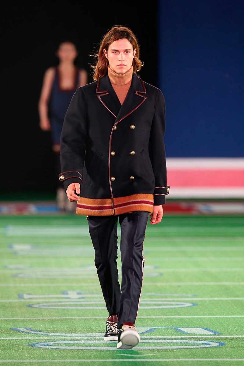 Tommy Hilfiger Presents Fall/Winter 2015 Menswear Collection in Beijing