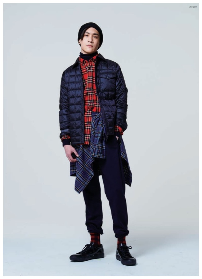 UNIQLO Lifewear Fall/Winter 2015: UNIQLO embraces plaid this fall with its essential flannel shirts.