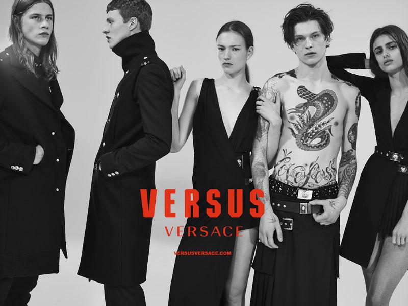 Versus Versace Fall 2015 Campaign Continues Punk Spirit