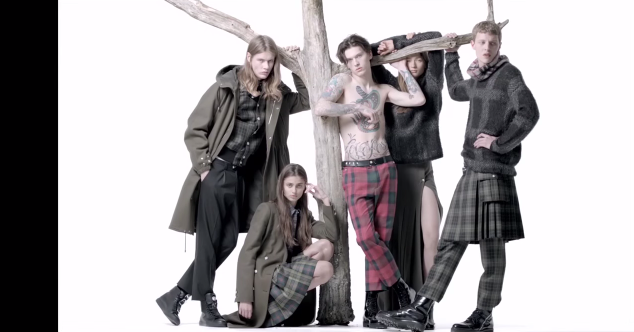 Versus Versace Fall/Winter 2015 Collection: Punk Military Chic