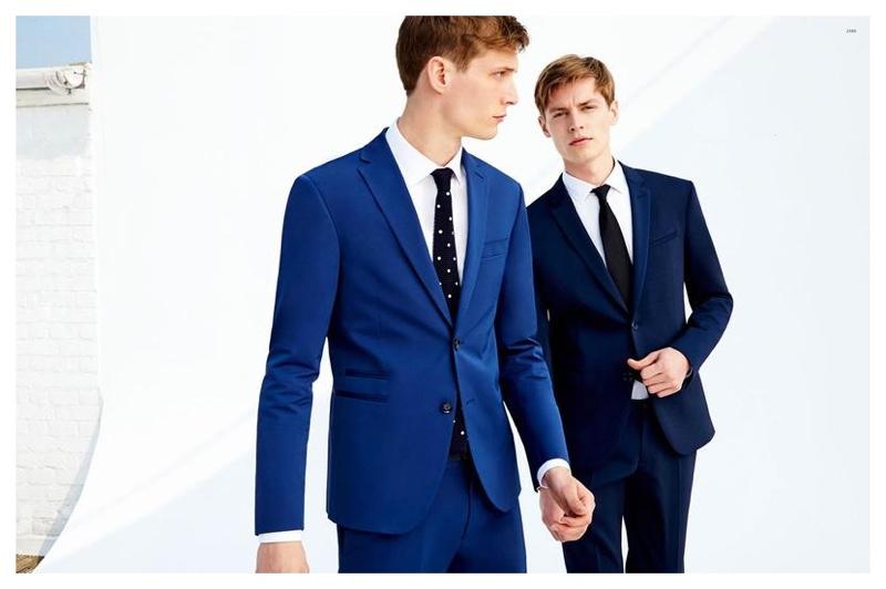 Zara Unveils Men's Tailoring Lookbook