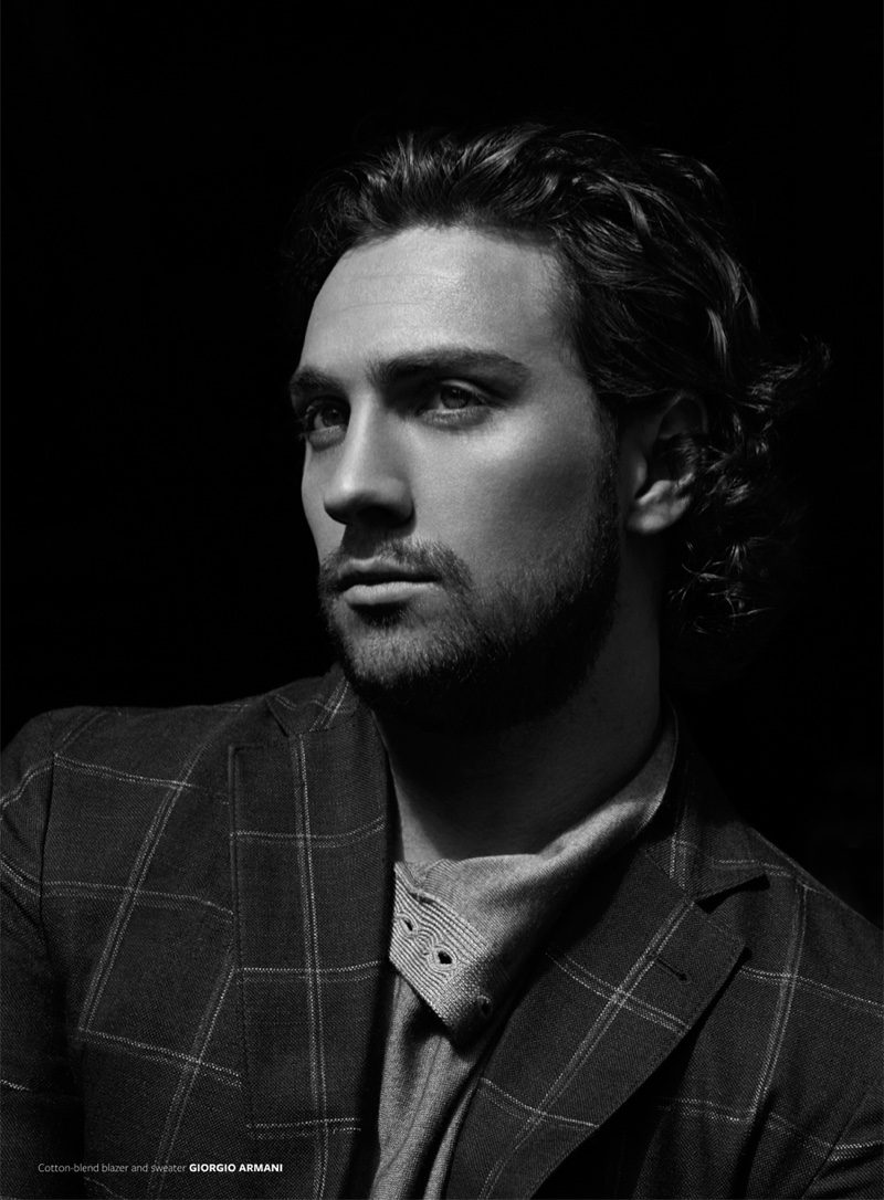 Aaron Taylor-Johnson opens up about being a dad in the interview