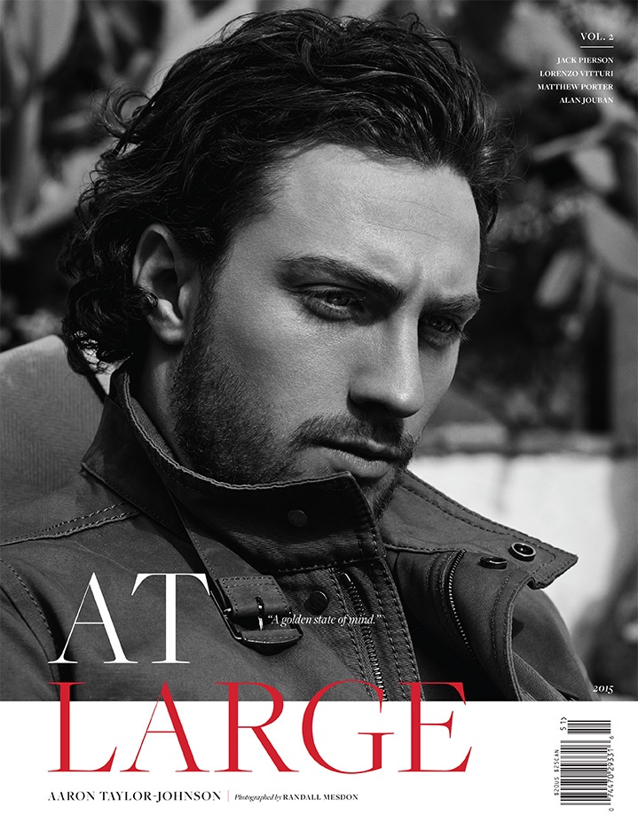 Aaron Taylor-Johnson stars on At Large Magazine cover