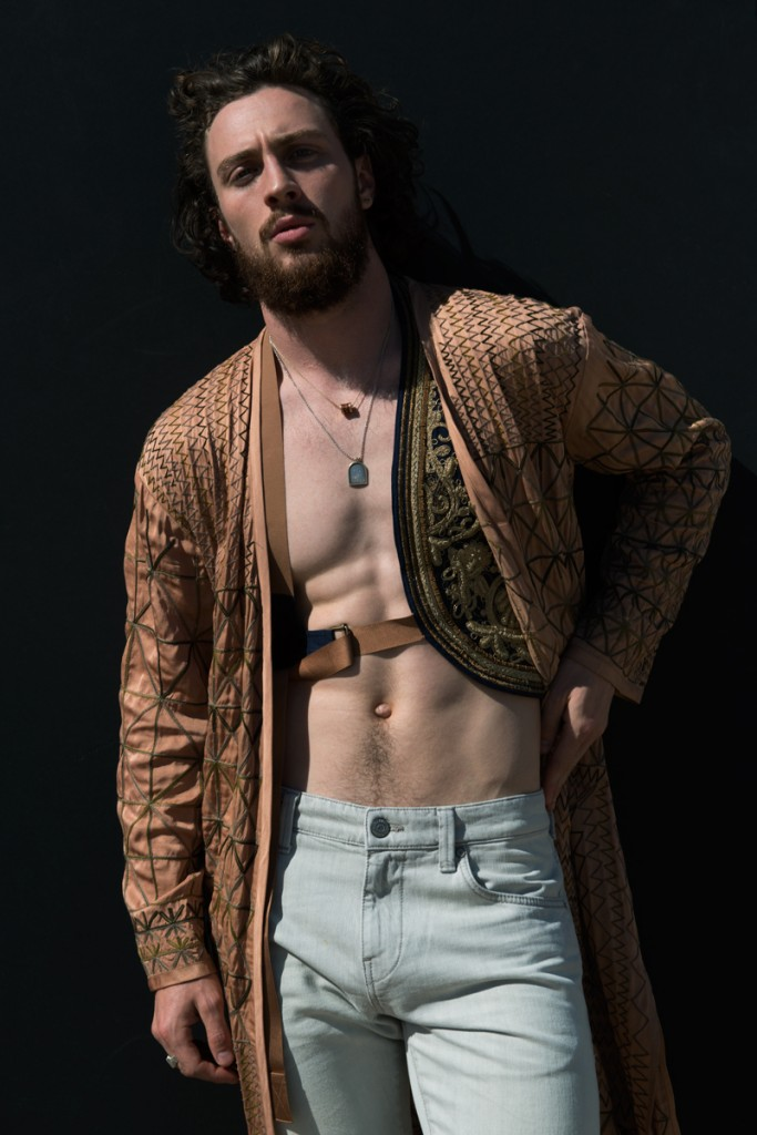 Aaron Taylor-Johnson Plays Cult Leader for Flaunt Photo Shoot
