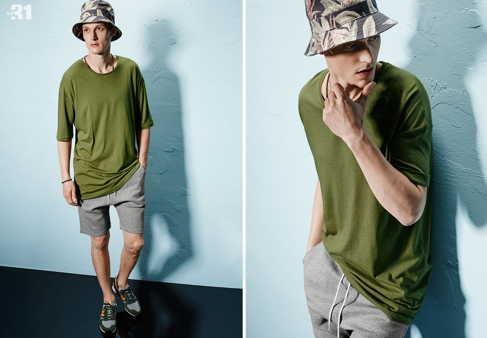 Adam Butcher is Effortlessly Cool in Relaxed Simons Styles