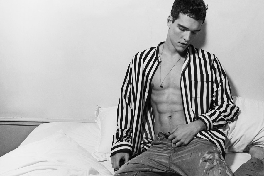 Alexandre Cunha Poses for Arresting New Images