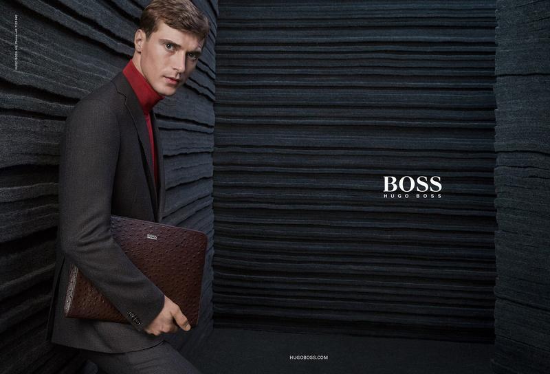 BOSS Hugo Boss Fall/Winter 2015 Campaign Starring Clément Chabernaud