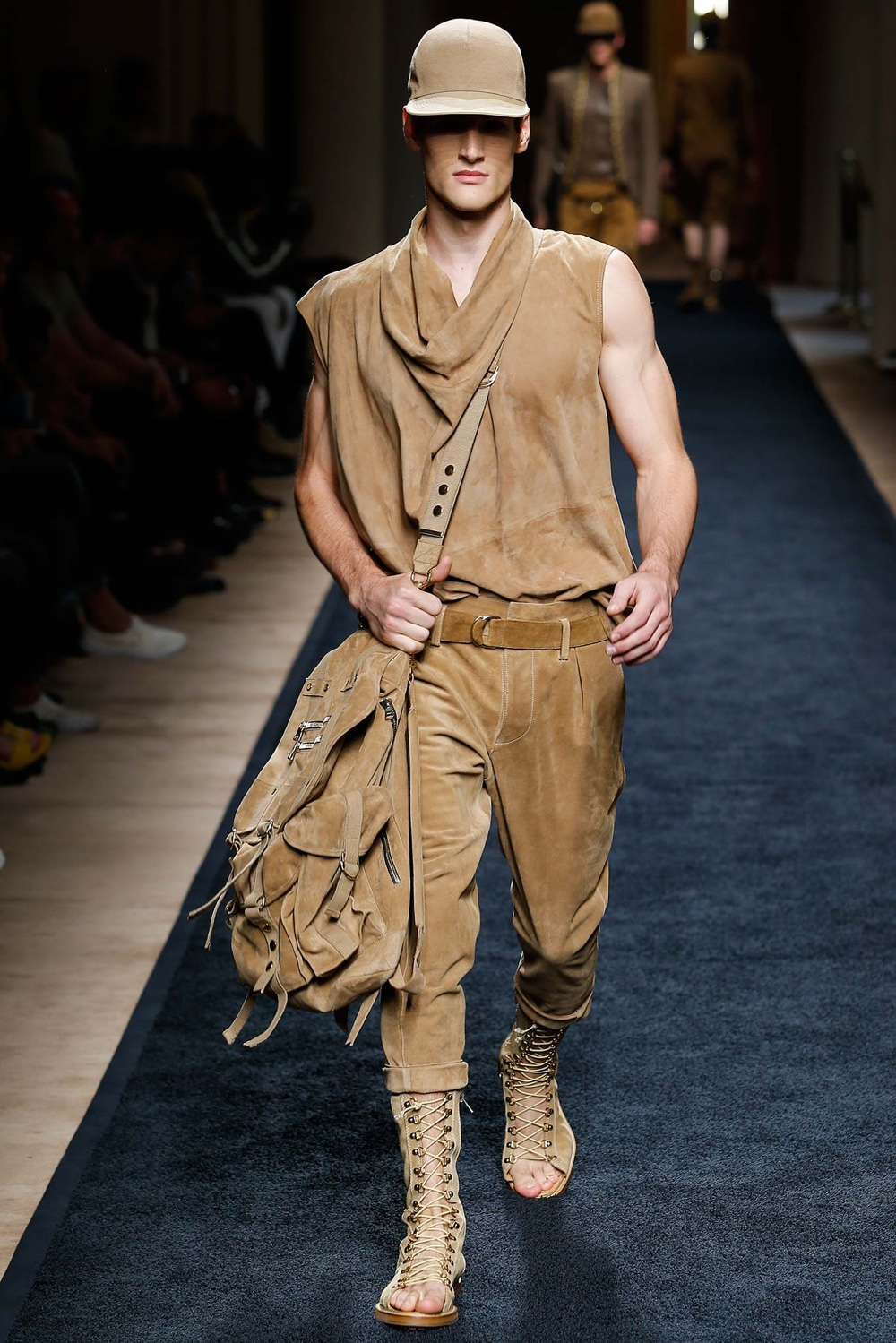 Balmain Spring Summer 2016 Menswear Collection Paris