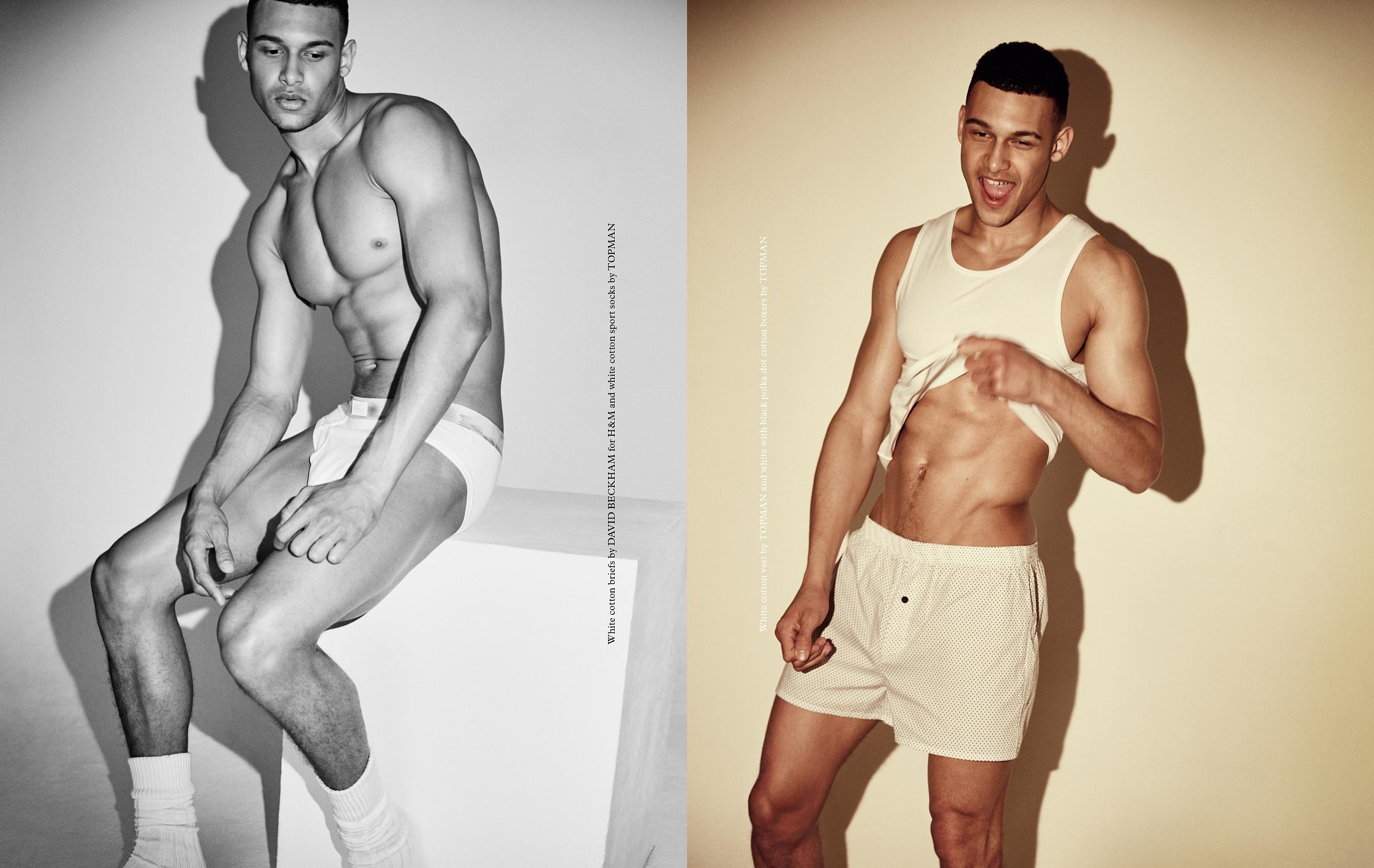 Brandon Lewis Stars in 'Flex' Underwear Shoot for One New Change