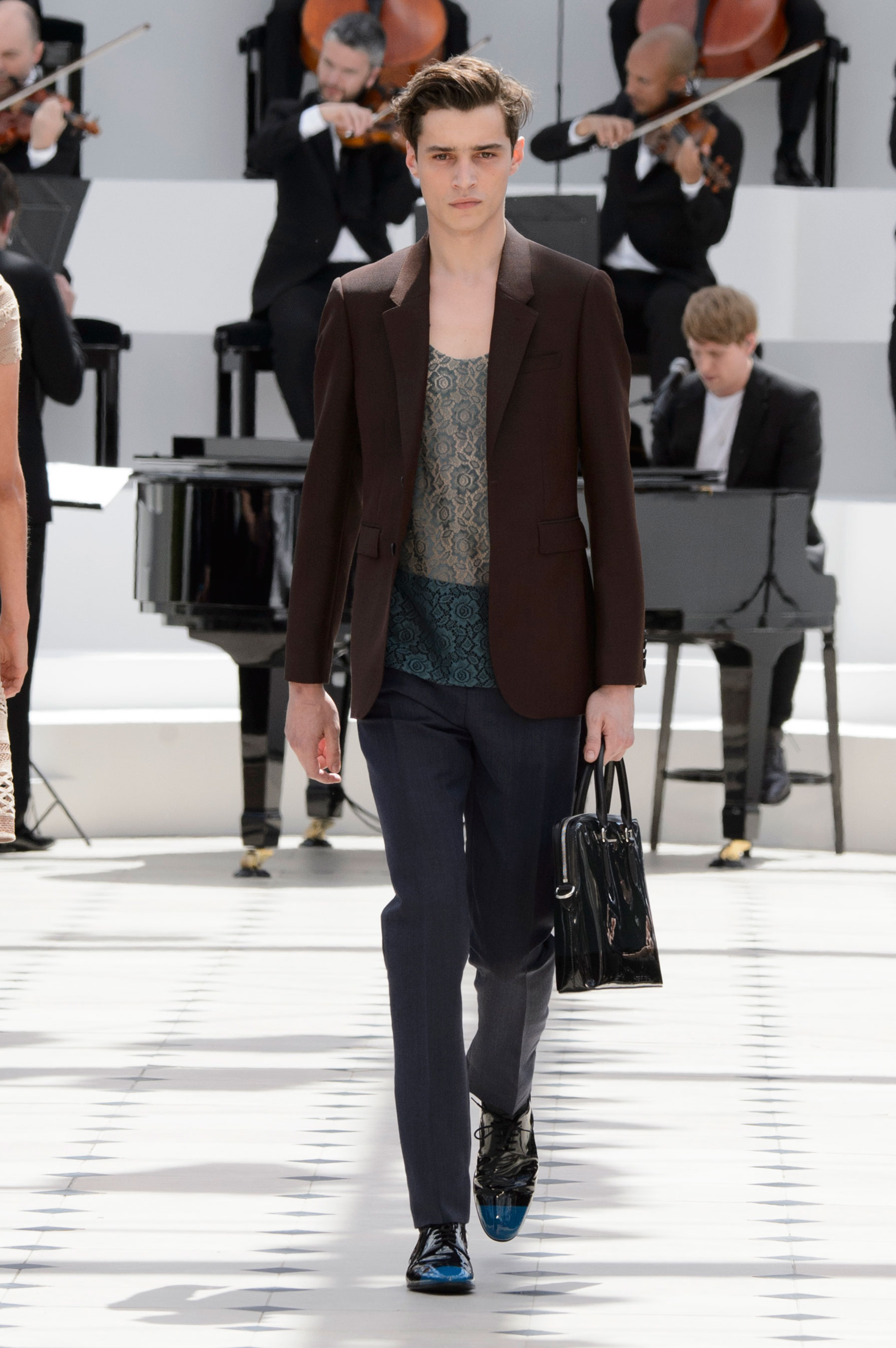 Burberry Prorsum Spring/Summer 2016 | London Collections: Men