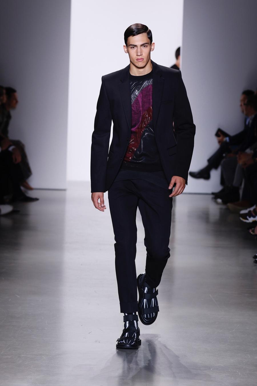 Calvin Klein at The Milan Fashion Week