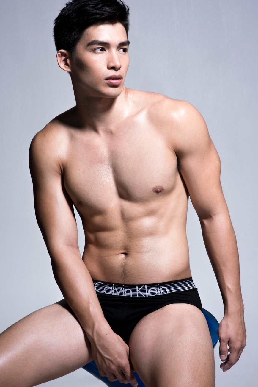 Daniel Strips Down to Underwear for Juliana Soo Shoot