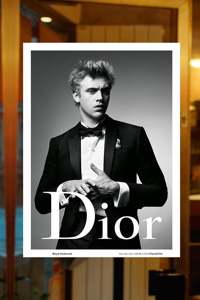 Boyd Holbrook for Dior Homme fall-winter 2015 campaign.