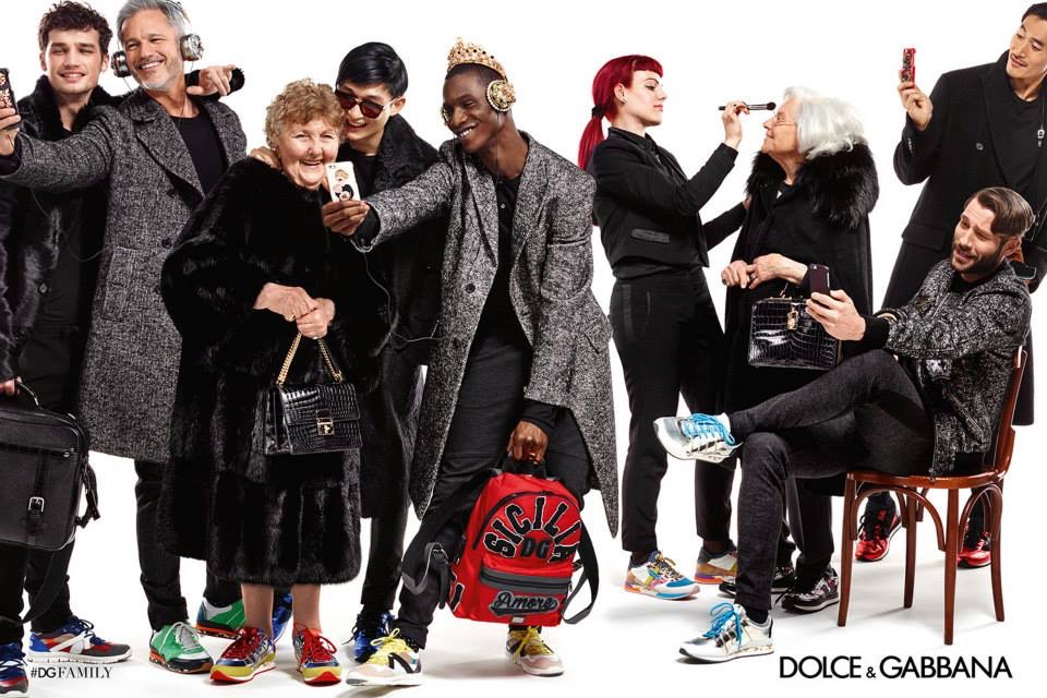 Dolce & Gabbana Fall/Winter 2015 Campaign is All About Family